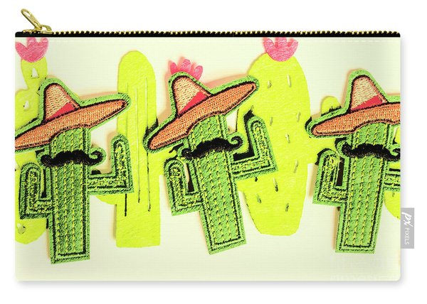 Chili Con Cacti Carry-all Pouch