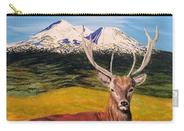 Carry-all Pouch featuring the painting Chillin' by Kevin Daly