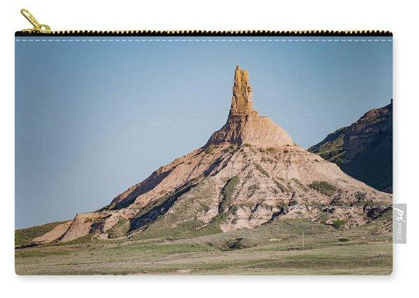 Chimney Rock In Nebraska Carry-all Pouch