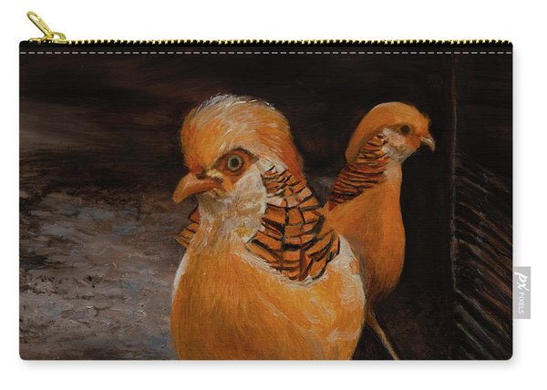 Chinese Golden Pheasant Carry-all Pouch