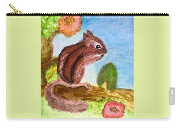 Chipmunk By Dee Carry-all Pouch