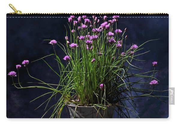 Chives Carry-all Pouch
