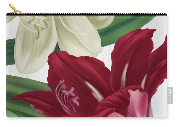 Christmas Amaryllis I Carry-all Pouch