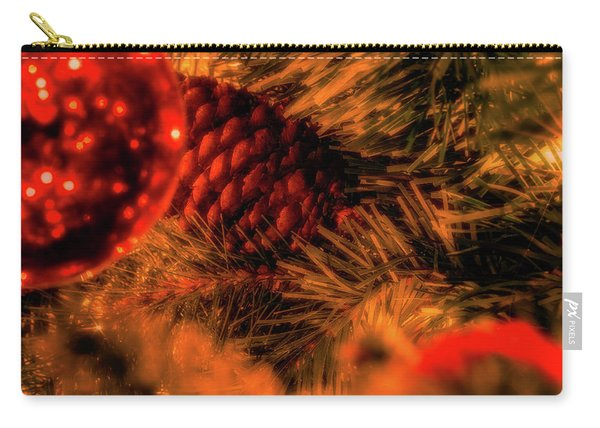Carry-all Pouch featuring the photograph Christmas Evergreen by Allin Sorenson