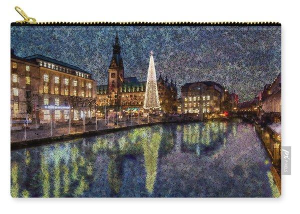 Christmas Hamburg Carry-all Pouch