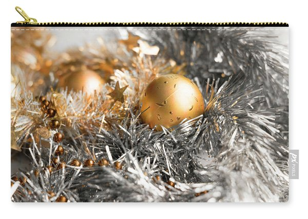 Christmas Tinsel Hue Carry-all Pouch