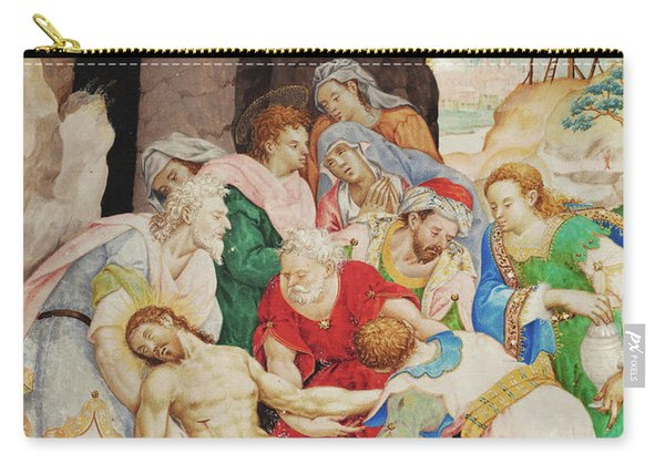 Christ's Burial Carry-all Pouch