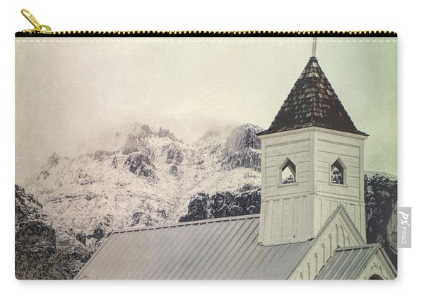 Church Snowy Mountains Carry-all Pouch