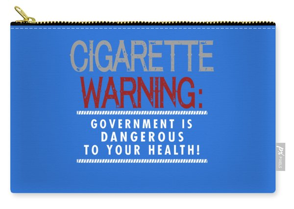 Cigarette Warning Carry-all Pouch