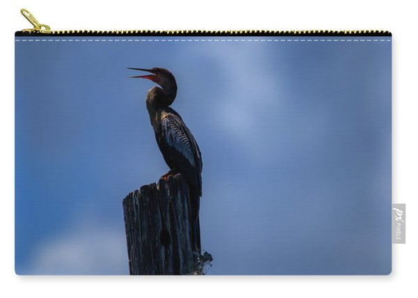 Cinematic Looking Anhinga Carry-all Pouch