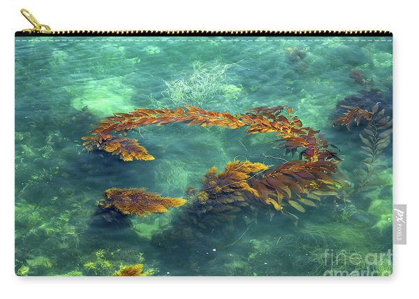 Circle Of Glistening Seaweed Carry-all Pouch