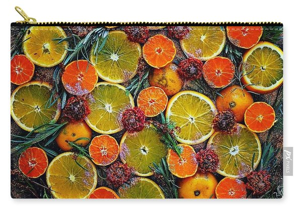 Citrus Time Carry-all Pouch