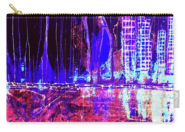 City By The Sea L Carry-all Pouch