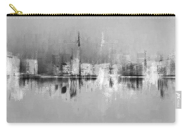 City In Black Carry-all Pouch