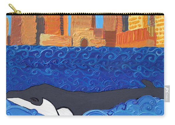 City Whale Carry-all Pouch