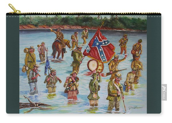 Civil War Battle, Spanish Fort, Mobile Bay, Mobile, Alabama Carry-all Pouch