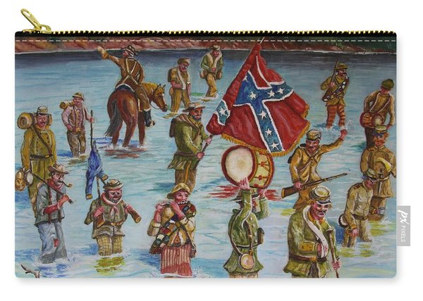 Civil War Battle, Spanish Fort, Spanish Fort,mobile Bay, Alabama Carry-all Pouch