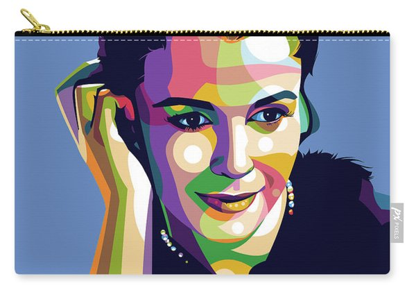 Claire Bloom Carry-all Pouch