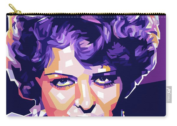 Clara Bow Pop Art Carry-all Pouch