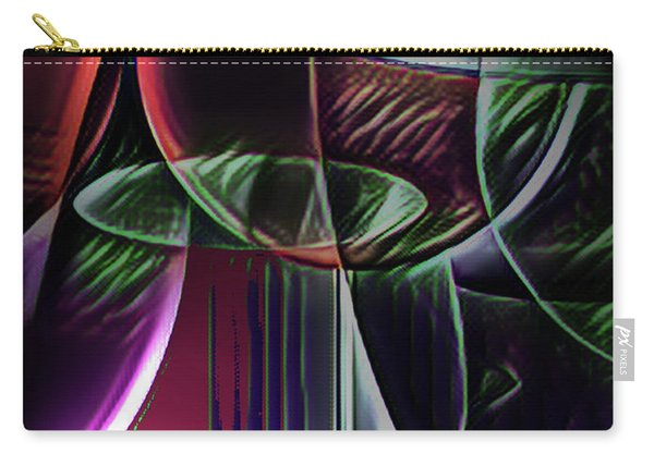Claret Abstract Carry-all Pouch
