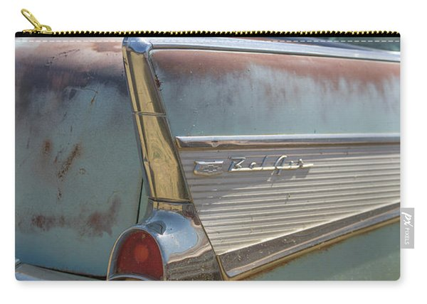Classic Chevy Bel Air Abandoned In Utah Carry-all Pouch