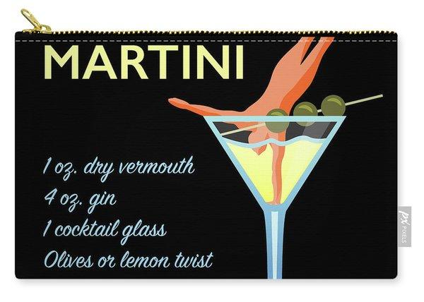 Classic Martini Carry-all Pouch