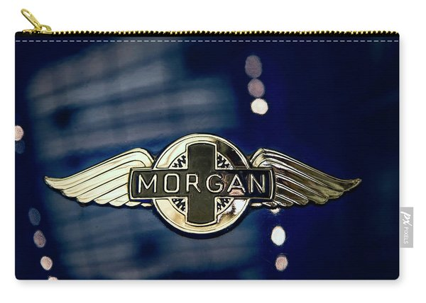 Classic Morgan Name Plate Carry-all Pouch
