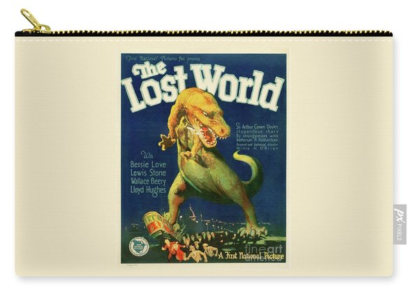 Classic Movie Poster - The Lost World Carry-all Pouch