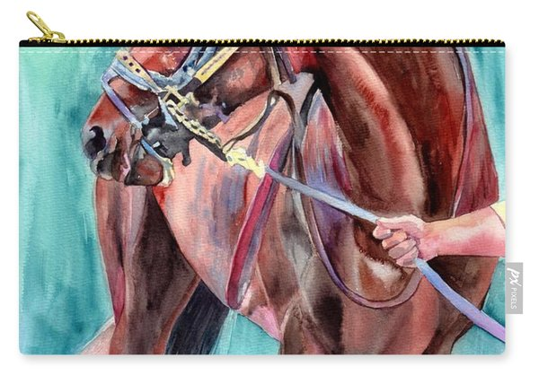 Classical Horse Portrait Carry-all Pouch
