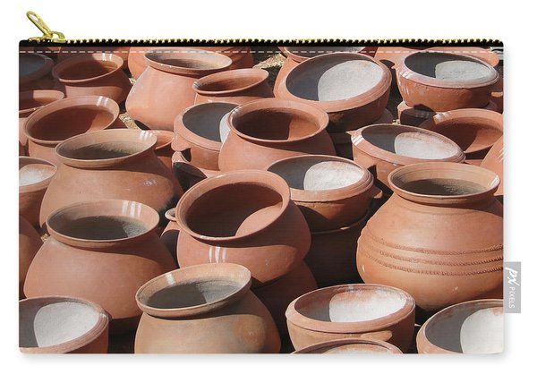 Clay Pots  For Sale In Chatikona  Carry-all Pouch