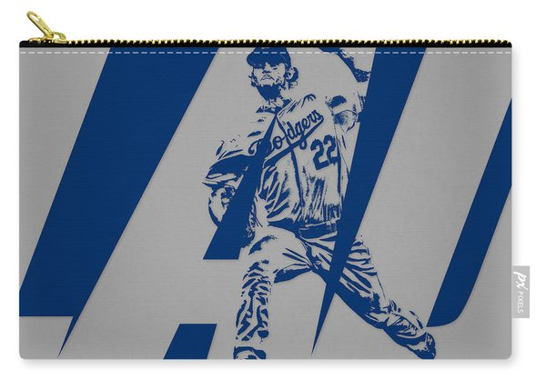 Clayton Kershaw Los Angeles Dodgers City Art 1 Carry-all Pouch