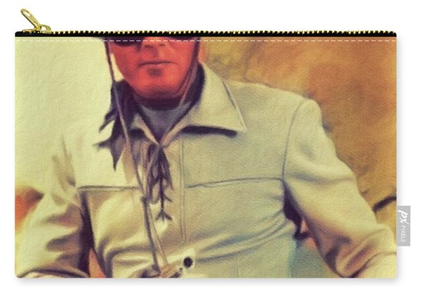 Clayton Moore, Vintage Actor Carry-all Pouch