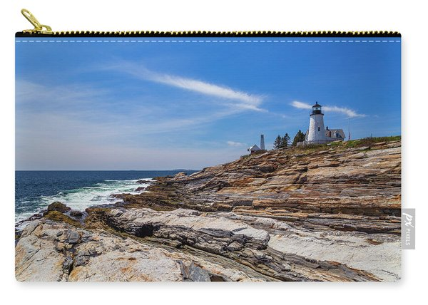 Clear Spring Day On The Coast Carry-all Pouch