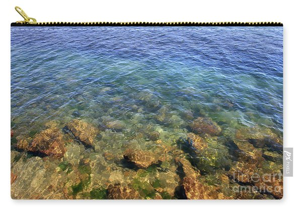 Clear Water At Morro Bay Carry-all Pouch