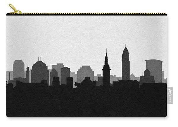Cleveland Cityscape Art V2 Carry-all Pouch