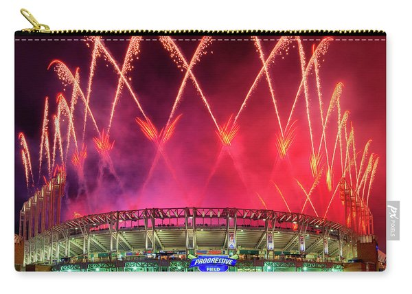 Cleveland Indians Fireworks Carry-all Pouch