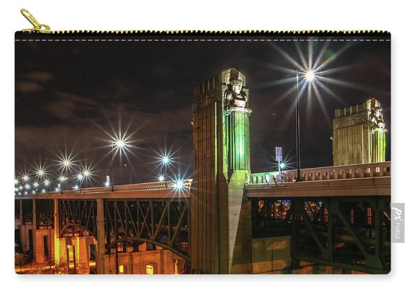 Cleveland Lights  Carry-all Pouch