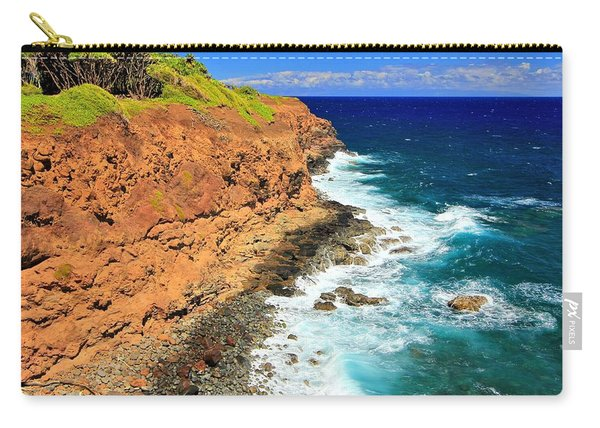 Cliff On Pacific Ocean Carry-all Pouch