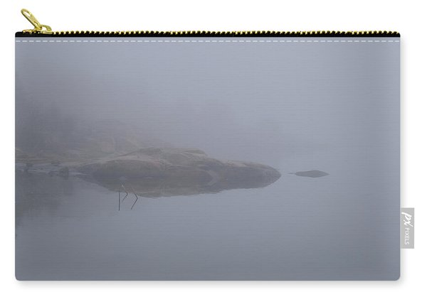 Cliffs In Fog Carry-all Pouch