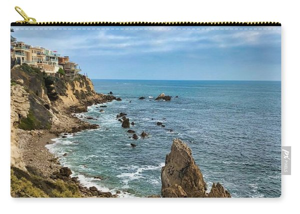 Cliffs Of Corona Del  Mar Carry-all Pouch