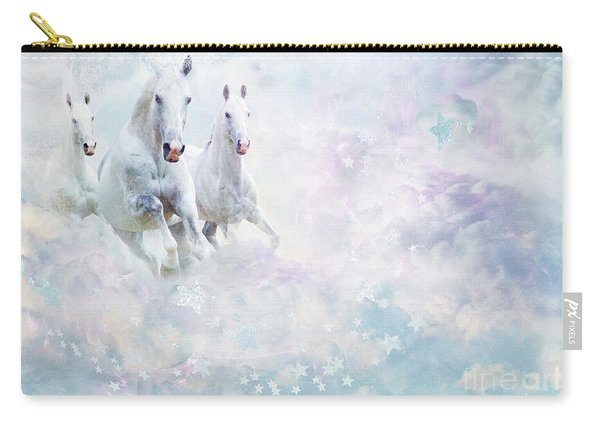 Cloud Horses Carry-all Pouch