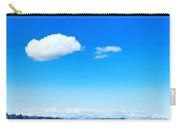 Cloud In Blue Carry-all Pouch