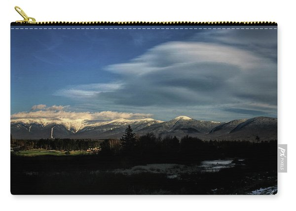 Cloud Lens Over The Presidential Range Carry-all Pouch