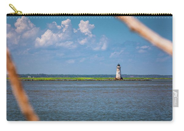 Cockspur Island Light Carry-all Pouch
