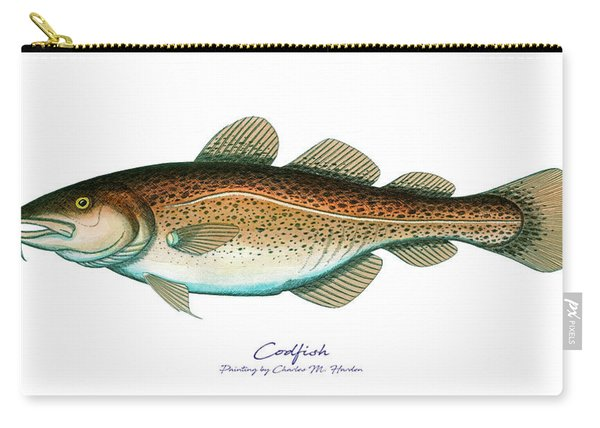 Codfish Carry-all Pouch
