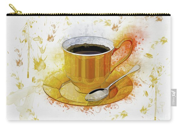 Coffee Art Carry-all Pouch