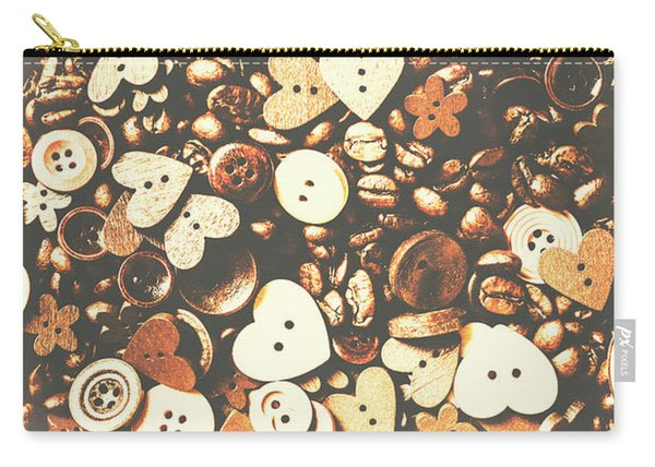 Coffee Lovers Layout Carry-all Pouch