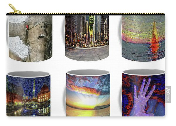 Coffee Mugs Samples Carry-all Pouch