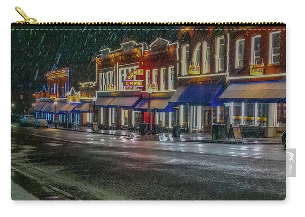 Cold Night In Cripple Creek Carry-all Pouch