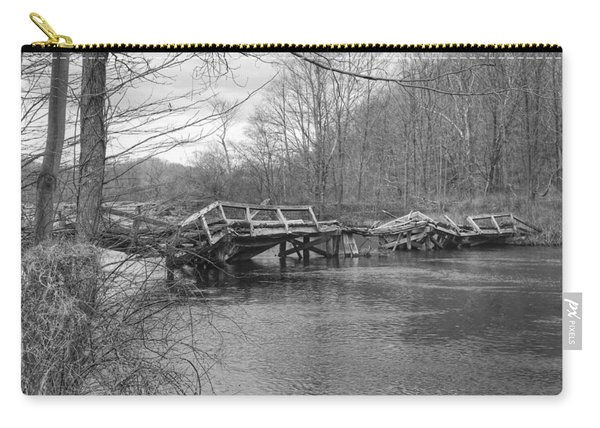 Collapsed Bridge At Waterloo Village Carry-all Pouch